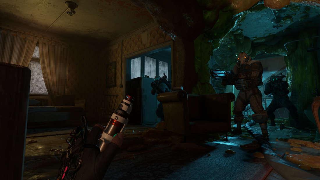 """Seit Jahren warten Fans auf """"Half-Life 3"""", doch Valve erfüllt Spielern den Wunsch einfach nicht. Stattdessen gibt es in diesem Jahr """"Half-Life: Alyx"""". Dabei handelt es sich um ein VR-Spiel für den PC und die Handlung spielt vor """"Half-Life 2"""". Spieler übernehmen die Rolle von Alyx Vance, eine enge Verbündete von Gordon Freeman im Kampf gegen die Combine.."""