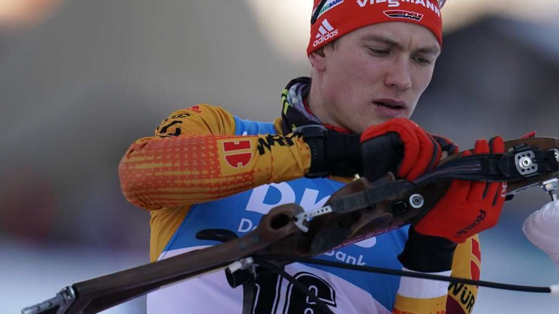 Biathlon: Benedikt Doll reist als einer der Mitfavoriten nach Oberhof.