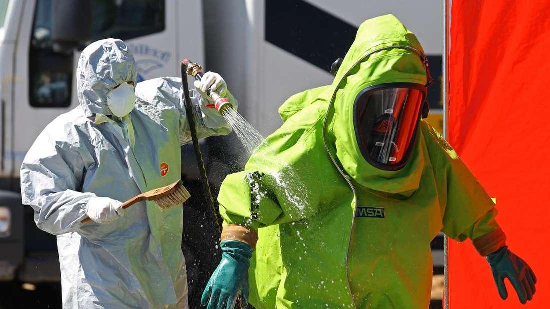 Chemieunfall in Schifferstadt: Warnung von Katwarn. (Symbolfoto)