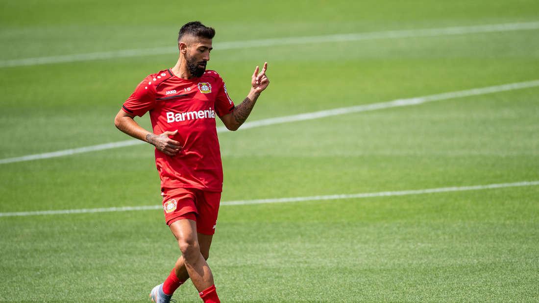 Kerem Demirbay hat sich bei Bayer 04 Leverkusen noch nicht durchgesetzt.