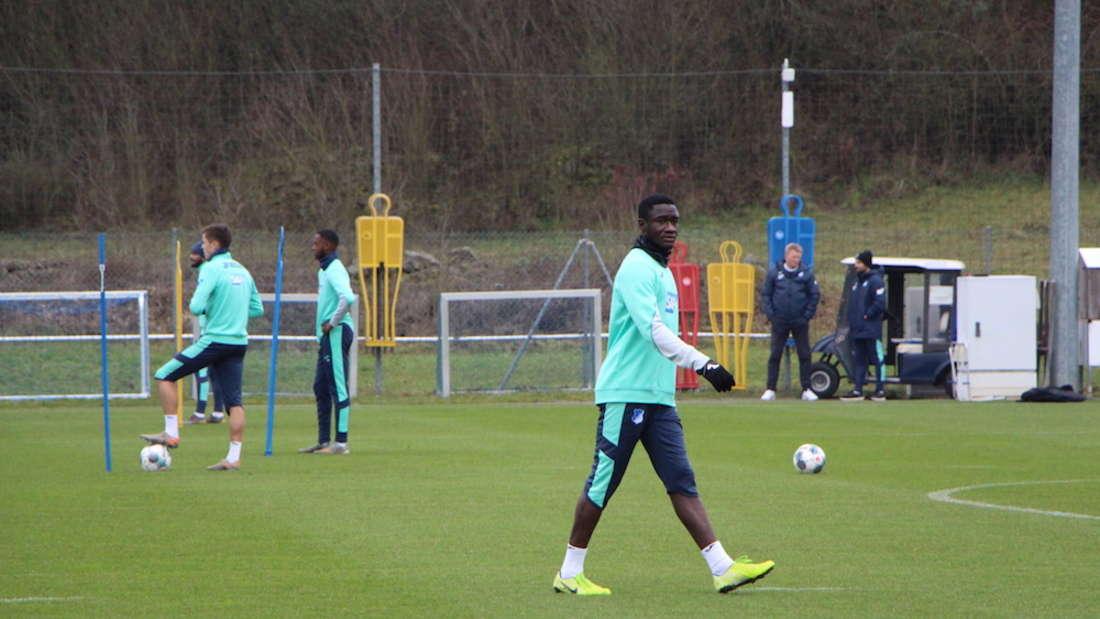 Fotos vom Training der TSG Hoffenheim in Zuzenhausen.