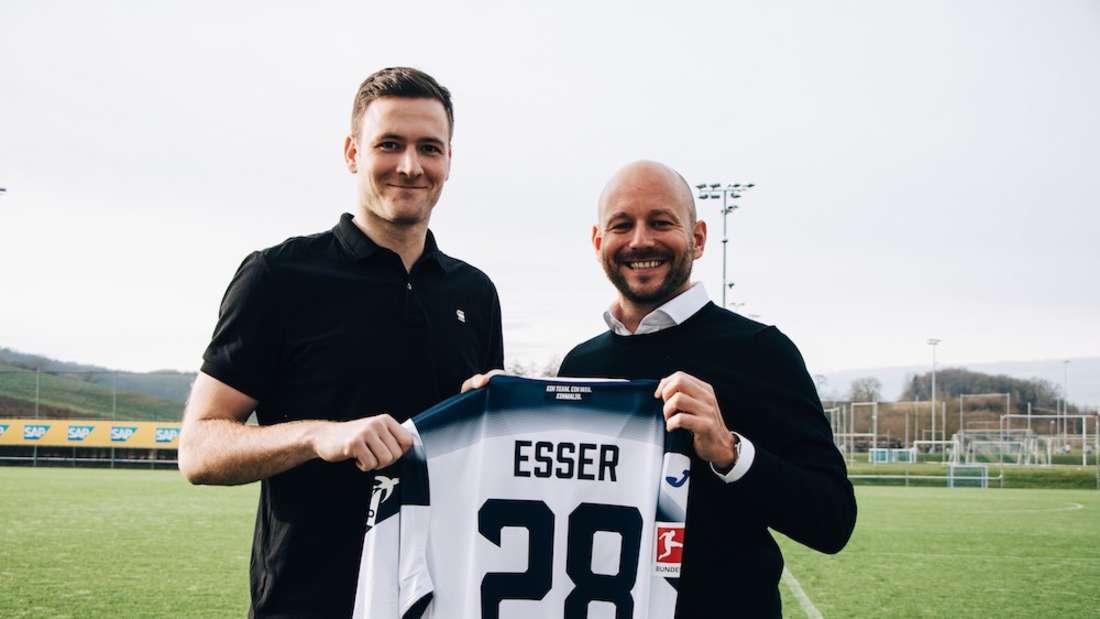 Die TSG Hoffenheim hat Michael Esser von Hannover 96 verpflichtet.