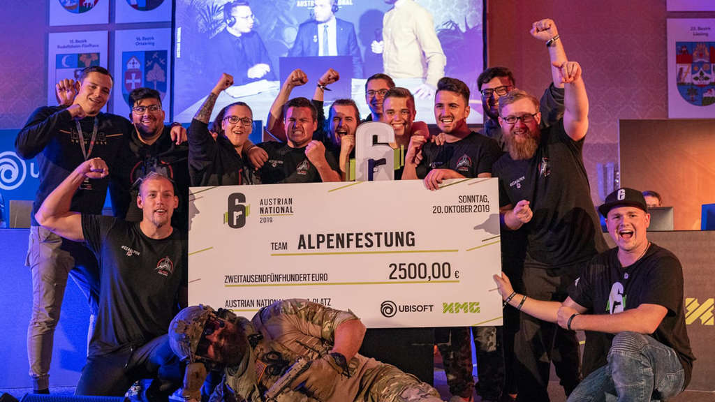 Alpenfestung: Rainbow Six Siege Clash of Nations Finalist aus Österreich.