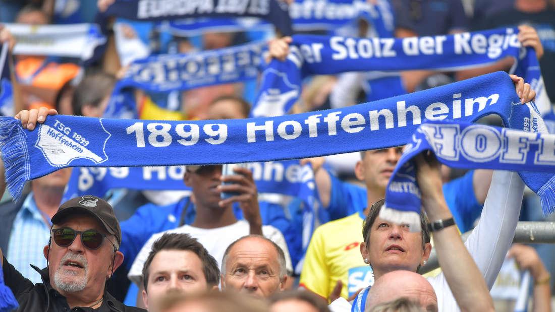 Die Hoffenheim-Fans kritisieren die Stadionshow in Sinsheim. (Archivfoto)