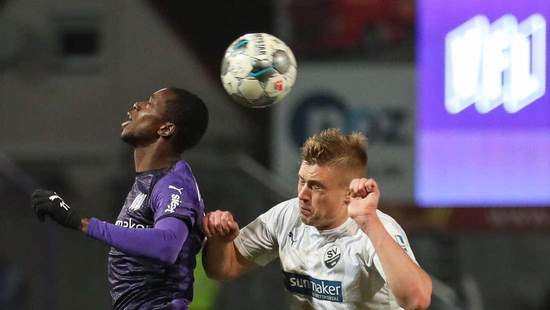 SV Sandhausen gewinnt beim VfL Osnabrück.