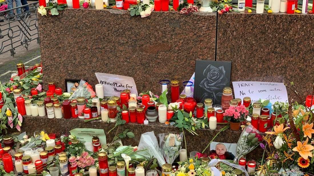 Hanau trauert um die Todesopfer des Terror-Anschlags