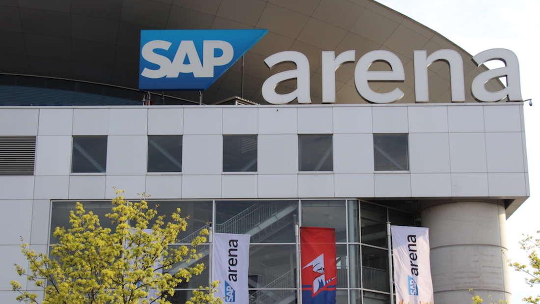 Die SAP Arena ist die Heimat der Adler Mannheim und der Rhein-Neckar-Löwen.