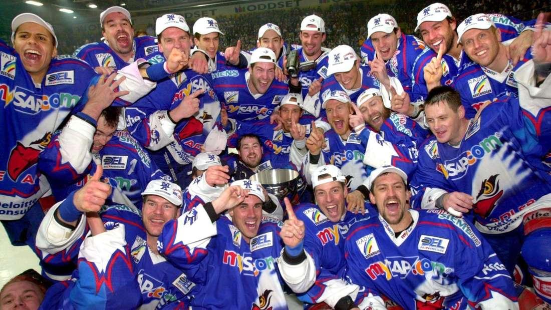 Adler Mannheim deutscher Eishockey-Meister
