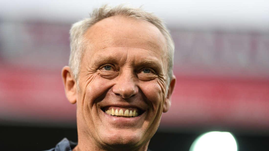 Christian Streich ist seit 2012 Cheftrainer des SC Freiburg.