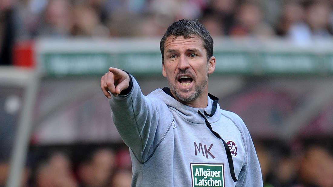 FCK-Trainer Marco Kurz steigt 2010 mit dem Klub in die Bundesliga auf.