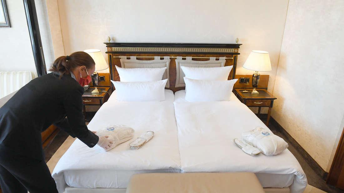 Coronavirus - ÷ffnung der Hotels