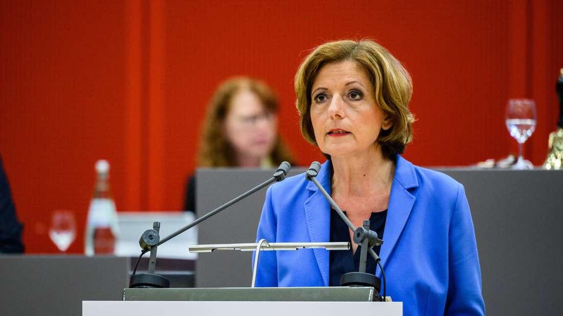 Die rheinland-pfälzische Ministerpräsidentin Malu Dreyer