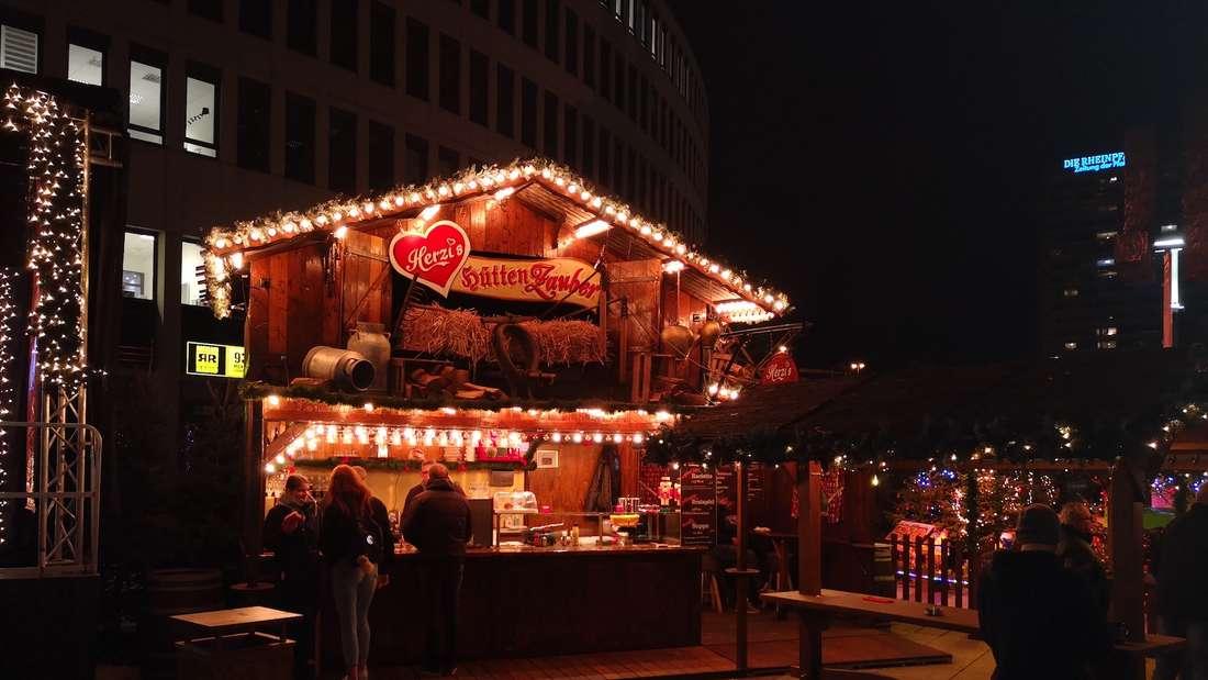 Der Weihnachtsmarkt in Ludwigshafen (Archivfoto)