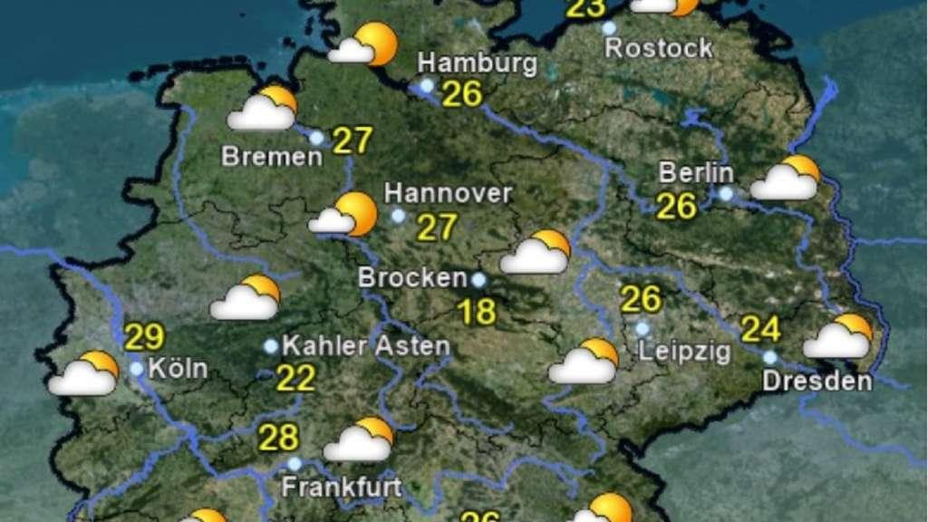 Wetter Berlin 2 Wochen