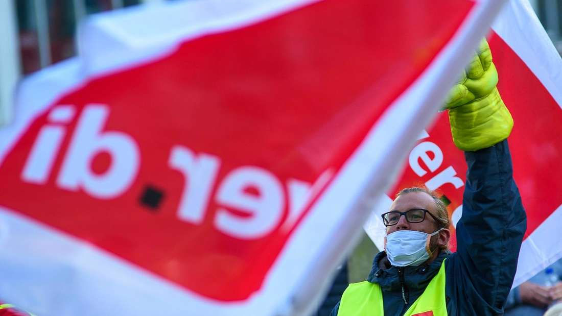 Die Gewerkschaft Verdi hat in Ludwigshafen zu Warnstreiks aufgerufen. (Symbolfoto)