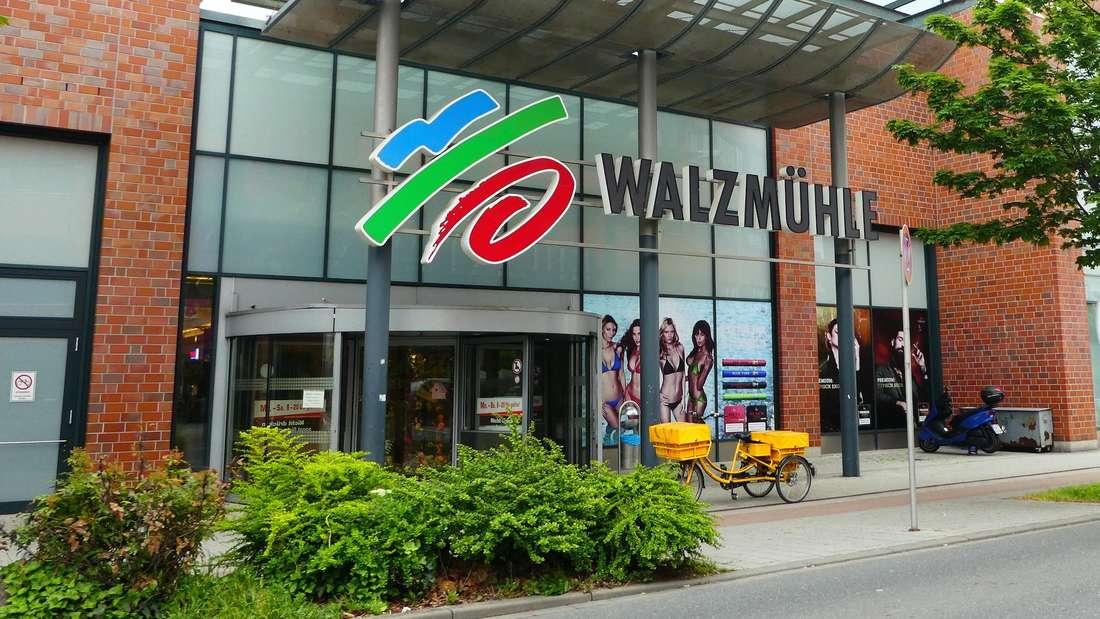 Das Shopping-Center Walzmühle in der Yorckstraße verwaist immer mehr.