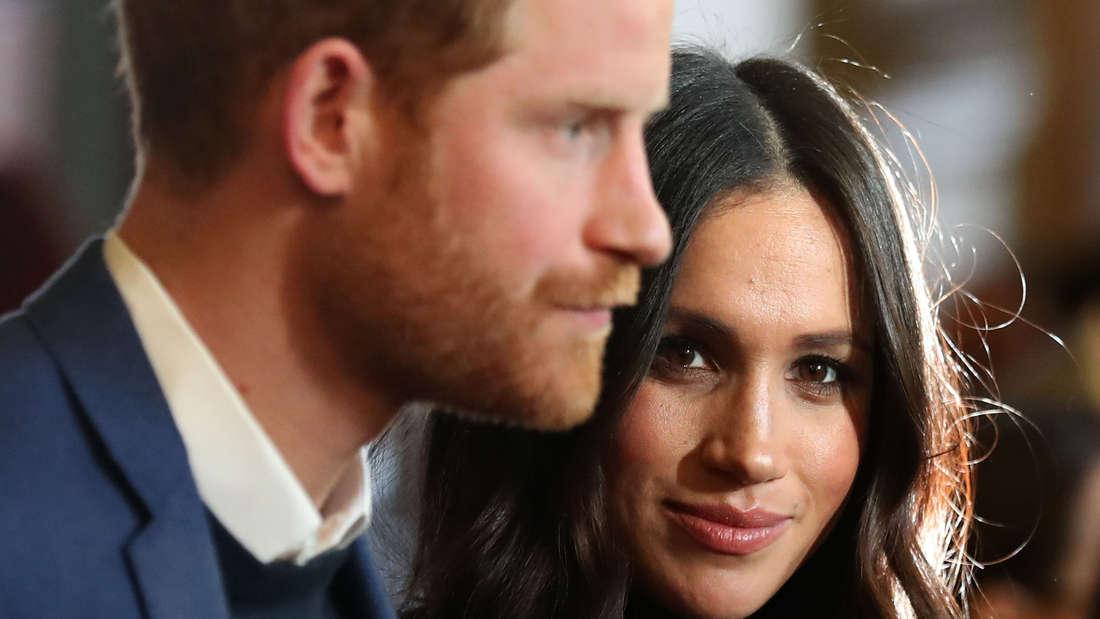 Meghan, Herzogin von Sussex, und Prinz Harry, Herzog von Sussex.