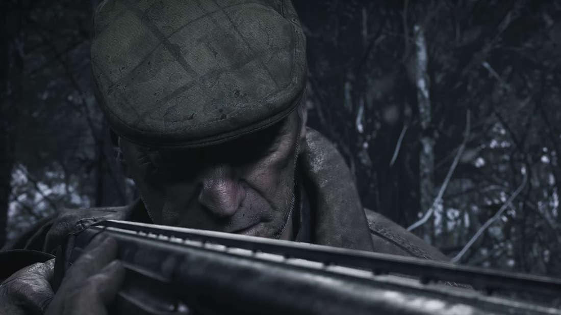 Resident Evil 8 Village Alter Mann Shotgun Wald