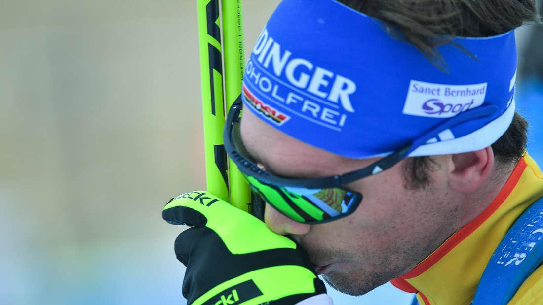 Beim Biathlon-Weltcup in Oberhof bestreitet Schempp sein letztes Rennen. Wenige Wochen später tritt er zurück.