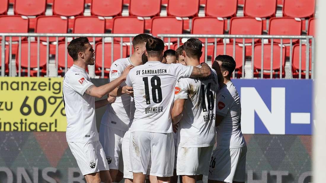 Der SV Sandhausen darf gegen Osnabrück zweimal jubeln.