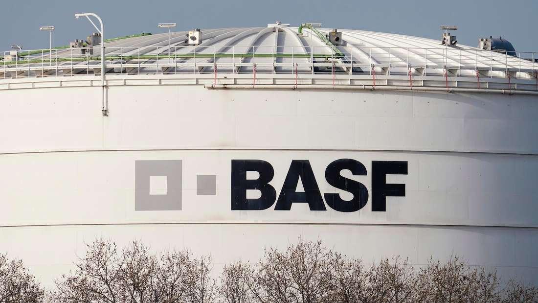 Ein Gebäude der BASF.