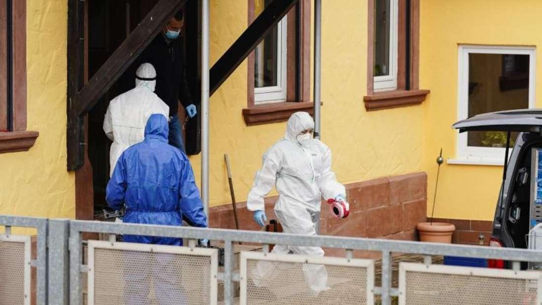 Nach dem Fund zweier Leichen in Weilerbach