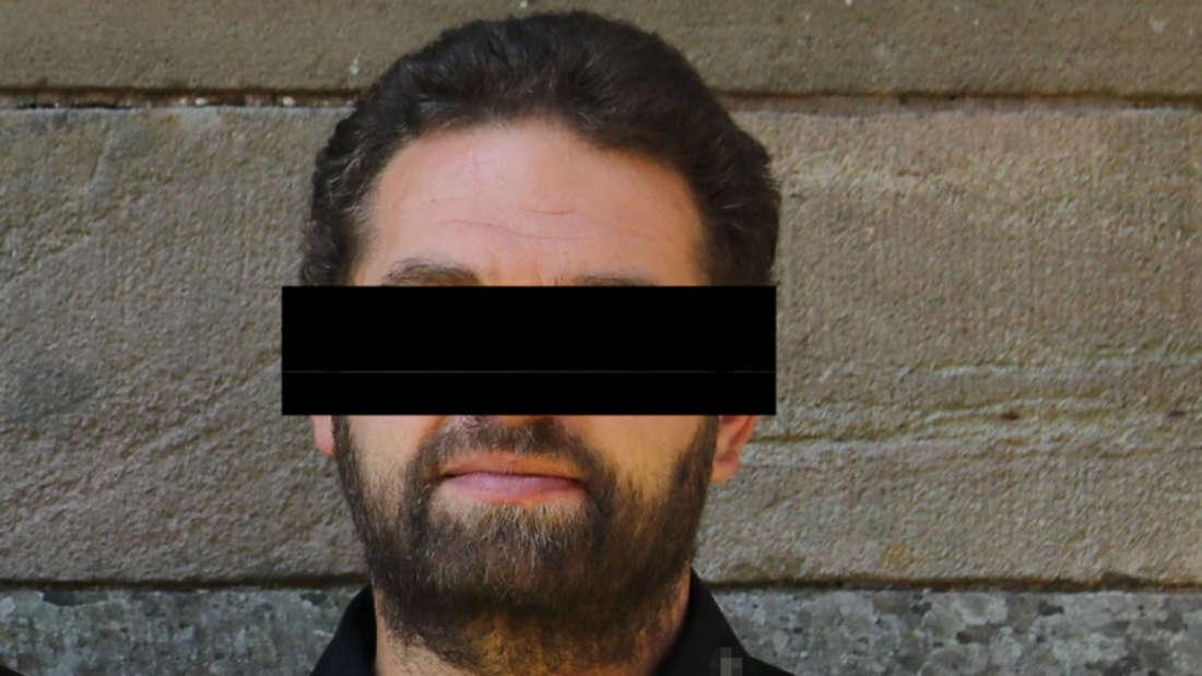 Mit diesem (unkenntlich gemachten) Foto von September 2020 fahndete die Polizei nach dem mutmaßlichen Doppelmörder Daniel M. (38).