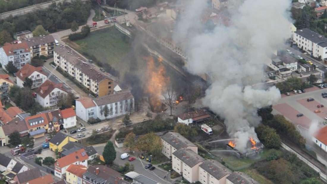 Gas-Explosion am 23. Oktober 2014.