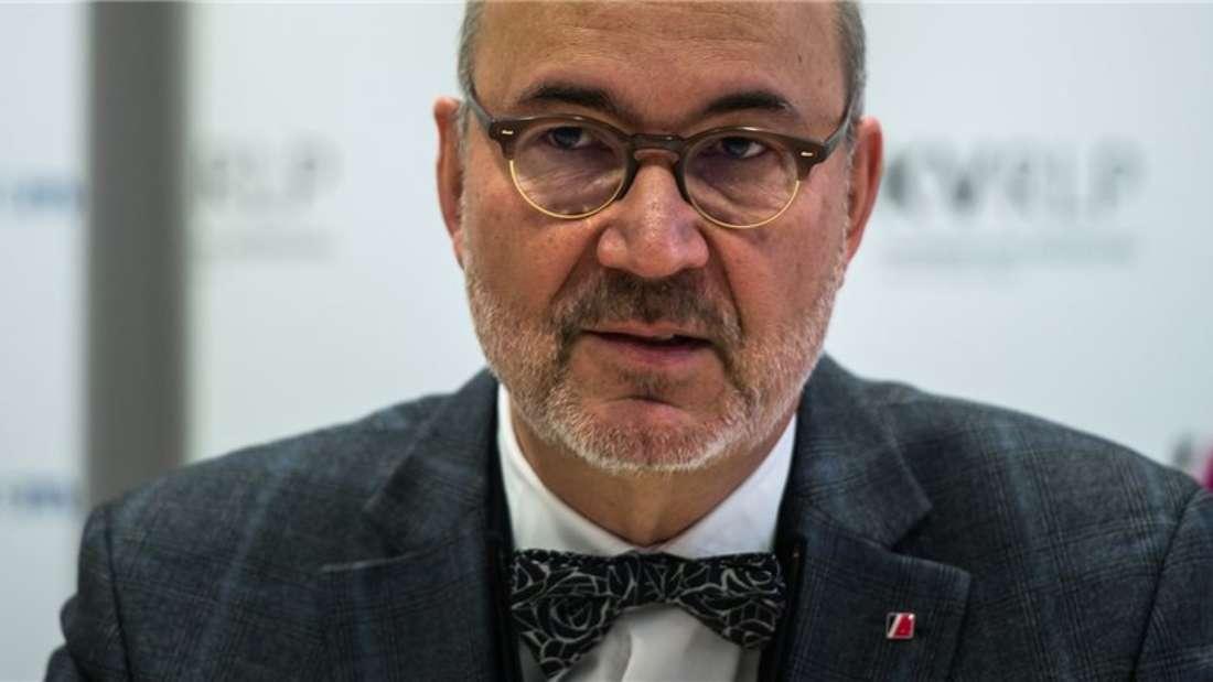 Sorgte mit seinen Aussagen für mächtig Wirbel: Der rheinland-pfälzische KV-Chef Dr. Peter Heinz.