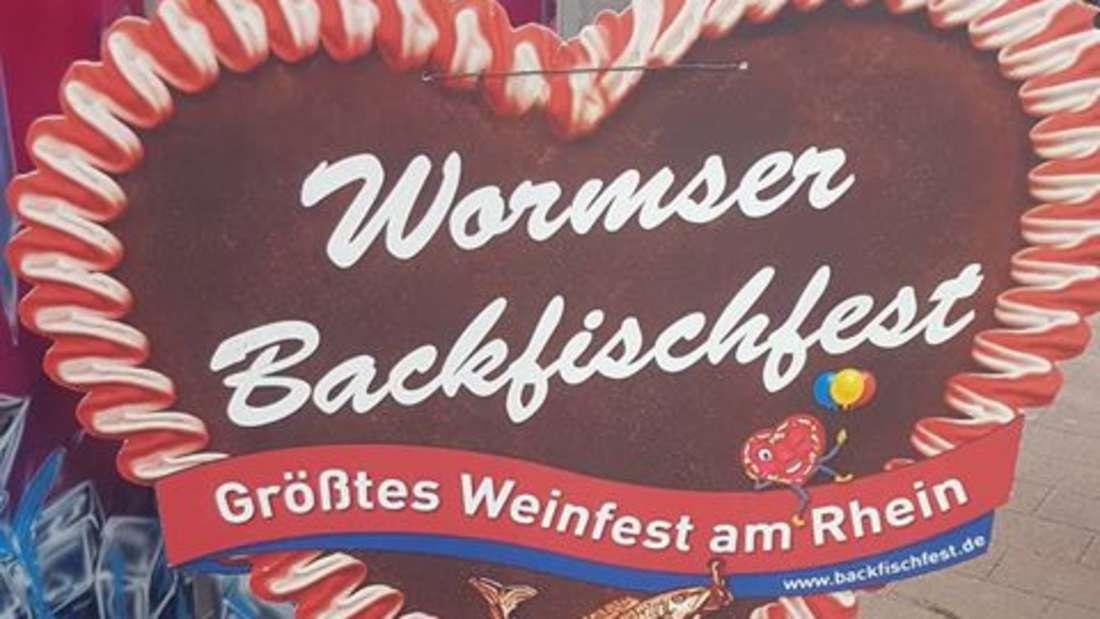 Das Wormser Backfischfest 2018 startet am 25. August. Wir sind bei der Eröffnung dabei!