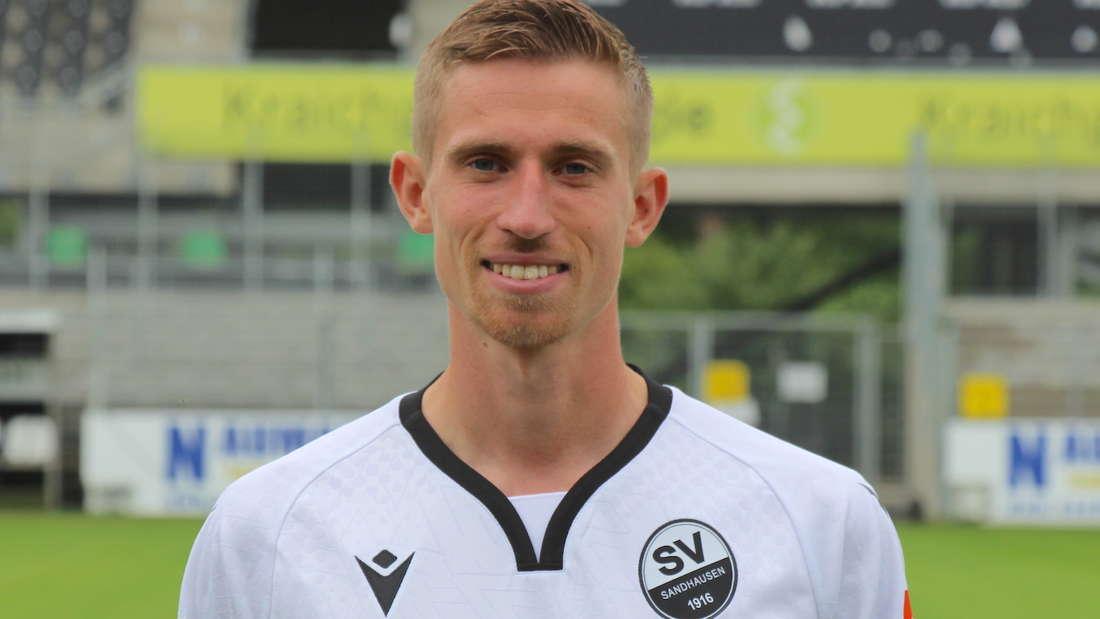 Arne Sicker vom SV Sandhausen