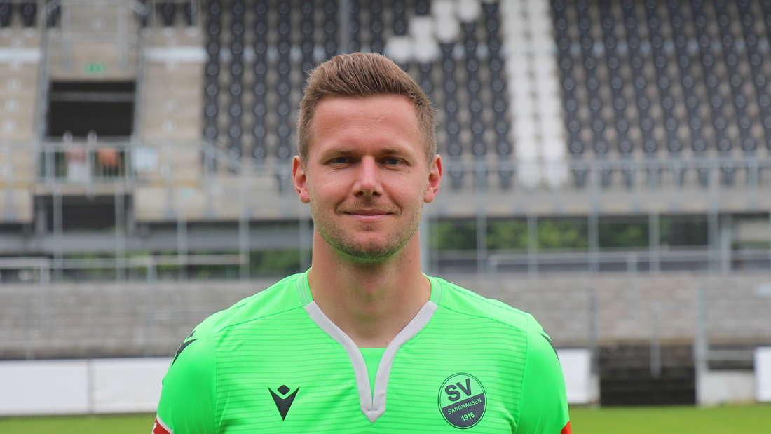 Patrick Drewes vom SV Sandhausen