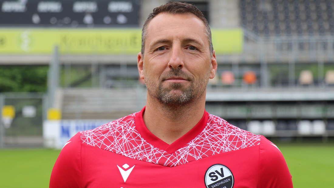 SVS-Torwarttrainer Daniel Ischdonat