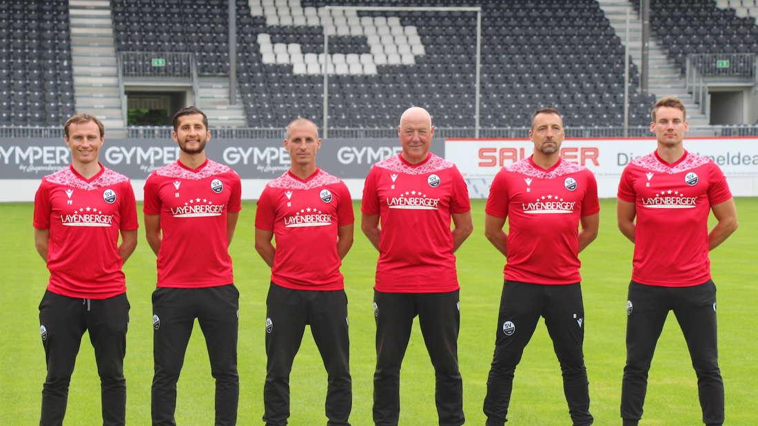 Das Trainerteam des SV Sandhausen 2021/22