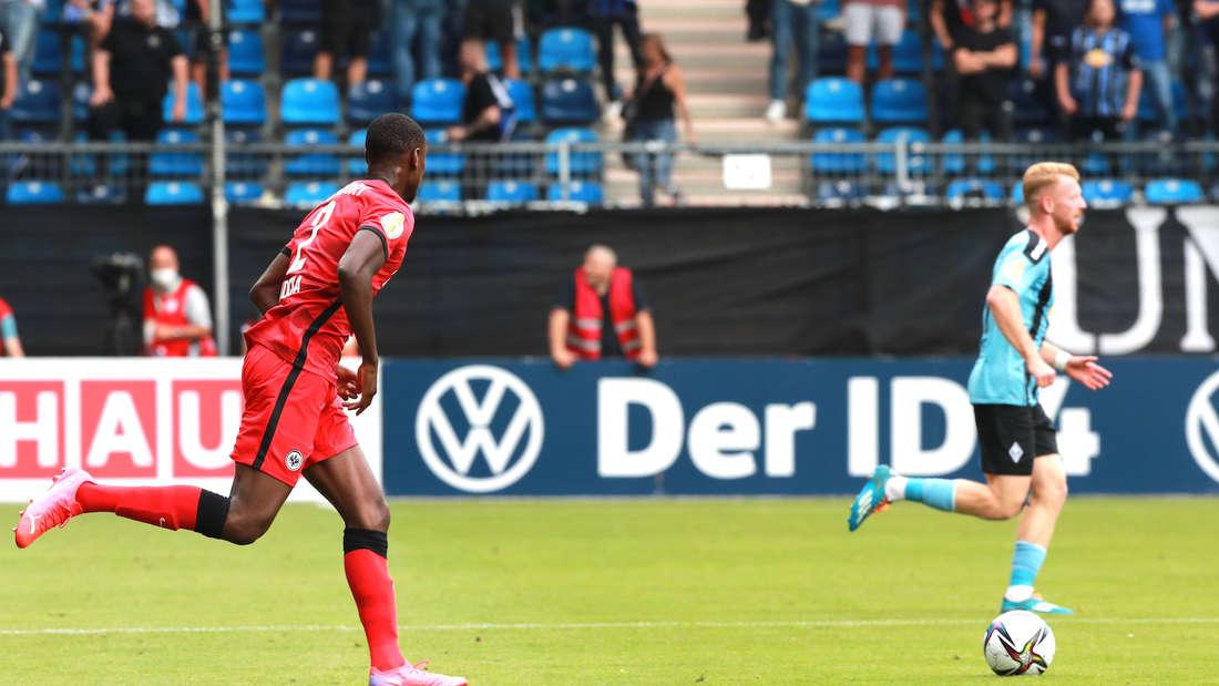 DFB-Pokal: SV Waldhof Mannheim - Eintracht Frankfurt