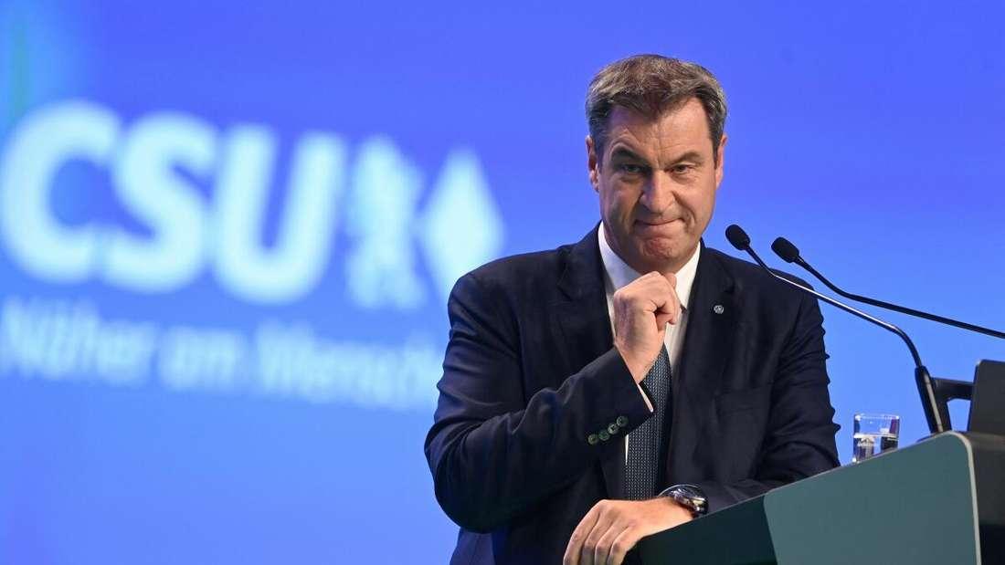 CSU-Parteichef und bayerischer Ministerpräsident: Markus Söder.