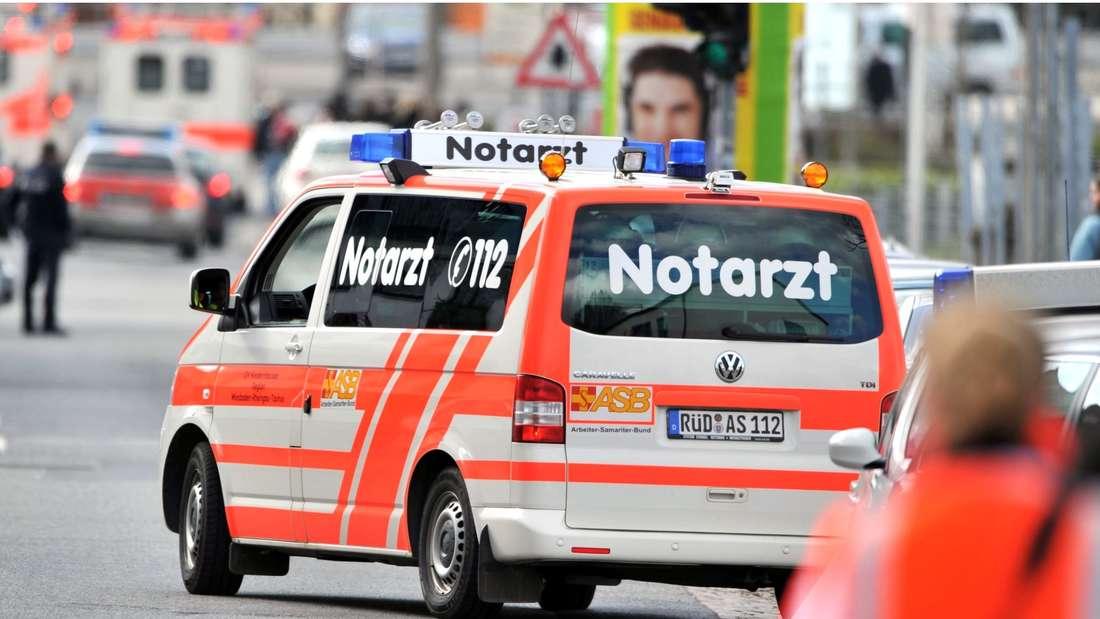Rettungswagen in Hessen