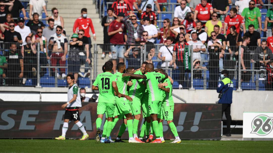 Der SV Sandhausen gewinnt bei Hannover 96.
