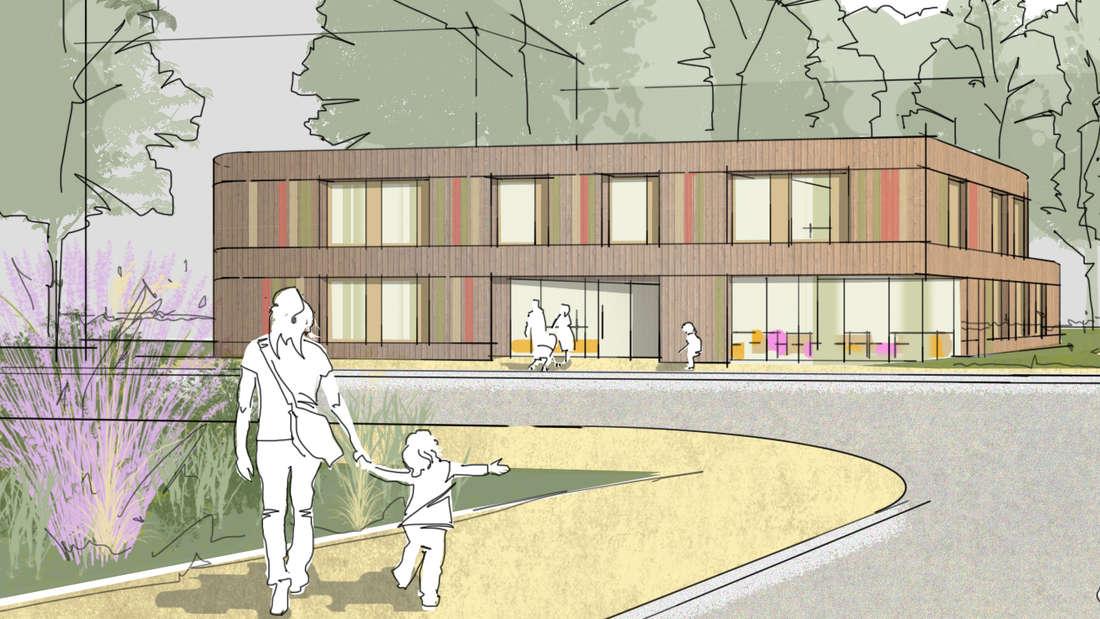 Visualisierung Kita Landteilstraße (MA-Lindenhof)
