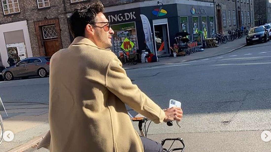 Mats Hummels genießt die freien Tage in Kopenhagen.